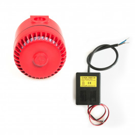 Warning siren including transformer for 230Vac - APT
