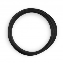 "PE Tube 1/4"" (6,35mm) - Black"