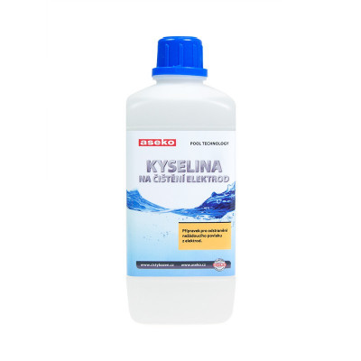 Liquid for TE electrode cleaning